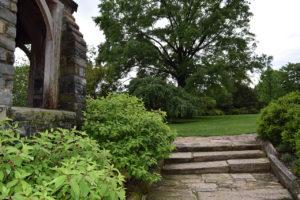 the Bishop's Garden, Washington National Cathedral in Washington, DC