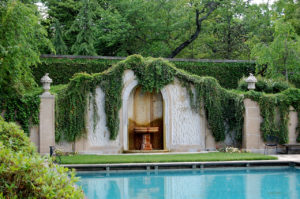 pool at Dumbarton Oaks, located in Washington, D.C.