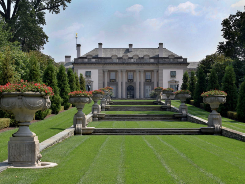 Nemours Mansion & Gardens in Wilmington, Delaware.