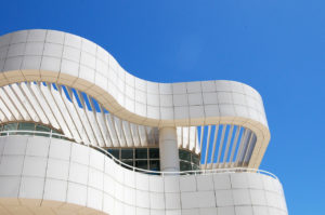 museum architecture of The Getty Center in Los Angeles, California