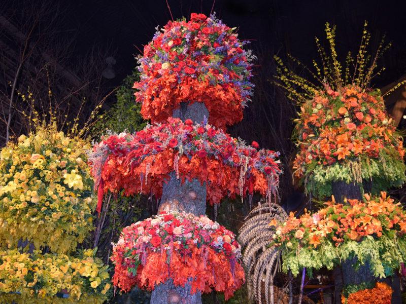 The Philadelphia Flower Show in Philadelphia, Pennsylvania