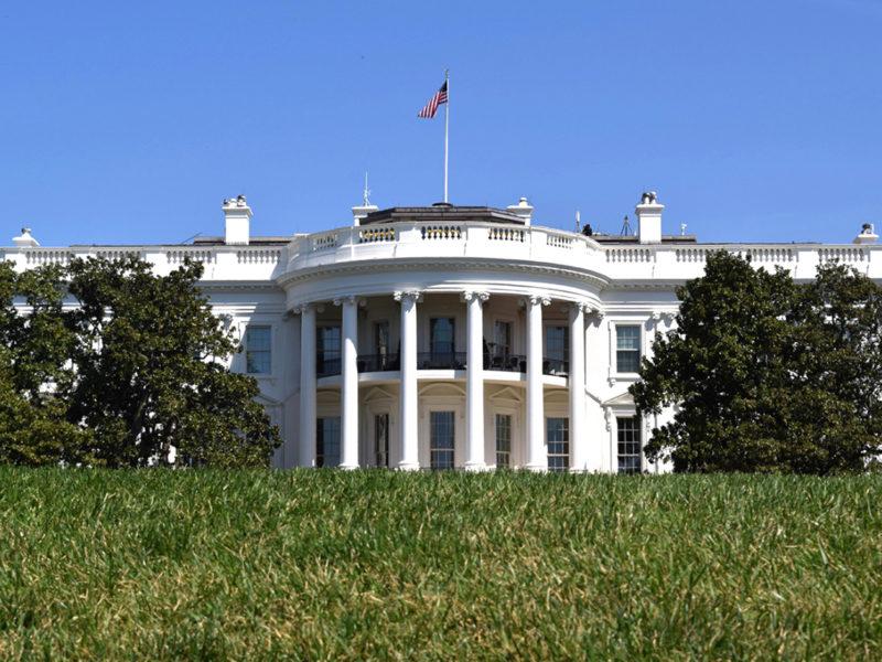 lawn of The White House Gardens Washington, DC