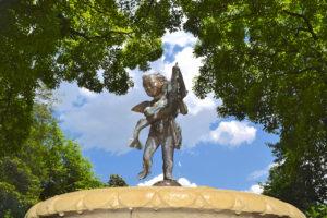 garden fountain at Tudor PlaceHistoric House & Garden in Washington, DC