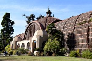 The Botanical Building in Balboa Park in San Diego, California