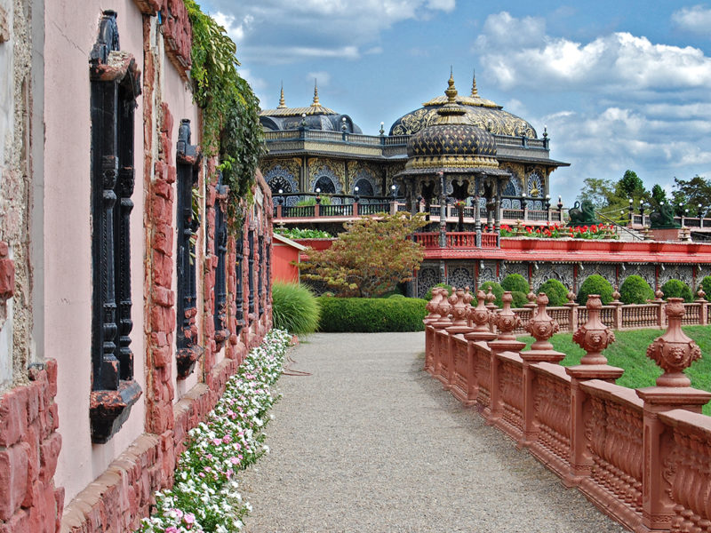Palace of Gold in New Vrindaban, West Virginia