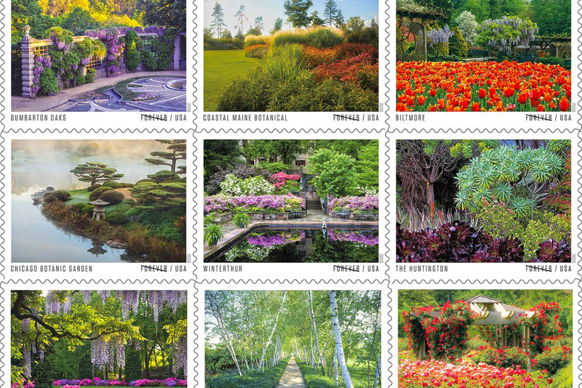 USPS American Gardens Stamps