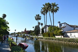 California's Venice Canals in Venice, California